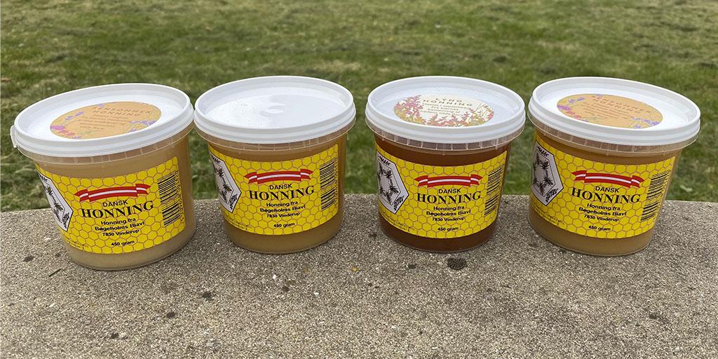 Dansk honning i miljøvenlig emballage